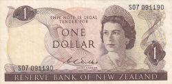 Image #1 of 1 Dollar ND (1968-1975)