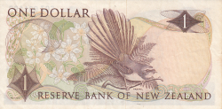 Image #2 of 1 Dollar ND (1968-1975)