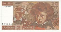 Image #1 of 10 Francs 1976 (5. VIII.)