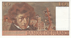 Image #2 of 10 Francs 1976 (5. VIII.)