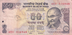 Image #1 of 50 Rupees 2013 - L