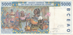 Image #2 of 5000 Francs (20)02