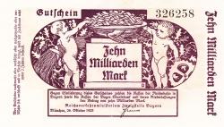 Image #1 of 10 Milliarden Mark 1923 (26. X.)