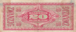 Image #2 of 20 Deutsche Mark ND (1948)