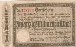 Image #1 of 20 Milliarden (20 000 000 000) Mark 1923 (24. X.)