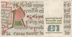 Imaginea #2 a 1 Pound 1986 (6. I.)