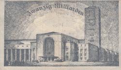 Image #2 of 20 Milliarden (20 000 000 000) Mark 1923 (19. X.) - Reihe 2