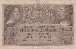 Imaginea #1 a 100 Mark 1918 (4. IV.)