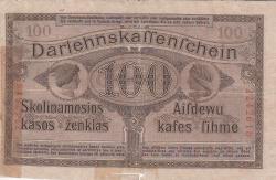 Imaginea #2 a 100 Mark 1918 (4. IV.)