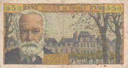 Image #2 of 5 Nouveaux Francs 1959 (2. VII.)