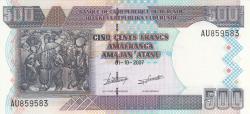 Image #1 of 500 Francs 2007 (1. X.)
