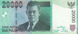 Image #1 of 20,000 Rupiah 2004/2005