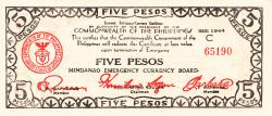 Image #1 of 5 Pesos 1944