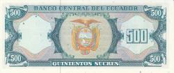 Imaginea #2 a 500 Sucres 1988 (8. VI.) - Serie GZ