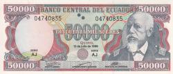 Imaginea #1 a 50 000 Sucres 1999 (12. VII.)