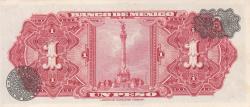 Image #2 of 1 Peso 1967 (10. V.) - Serie BDJ