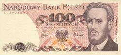 Image #1 of 100 Zlotych 1975 (15. I.)
