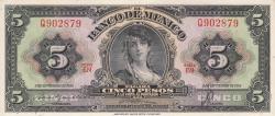 Image #1 of 5 Pesos 1954 (8. IX.) - SERIE EN