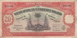 Image #1 of 20 Shillings 1945 (12. I.)