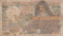 100 Franci 1943 (7. I.)