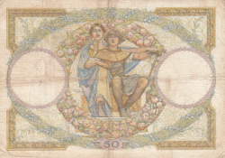 Image #2 of 50 Francs 1933 (21. XII.)