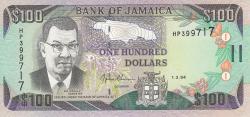 Imaginea #1 a 100 Dolari 1994 (1. III.)