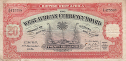 Image #1 of 20 Shillings 1941 (6. XI.)