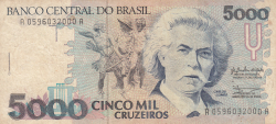 Image #1 of 5000 Cruzeiros ND (1990)