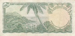 Image #2 of 5 Dollars ND (1965)