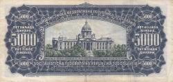 5000 Dinari 1963 (1. V.)
