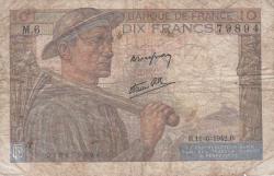 Imaginea #1 a 10 Franci 1942 (11. VI.)