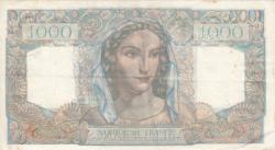 Image #2 of 1000 Francs 1948 (5. V.)