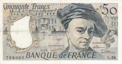 Image #1 of 50 Francs 1989