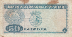 Imaginea #2 a 50 Escudos 1967 (24. X.) - semnături Luís Esteves Fernandes / Francisco José Vieira Machado