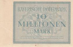 10 Millionen (10 000 000) Mark 1923 (1. IX.)