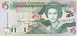 Image #1 of 5 Dolari ND (2000)