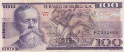 Image #1 of 100 Pesos 1978 (5. VII.)