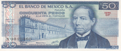 Image #1 of 50 Pesos 1979 (17. V.) - Serie GP
