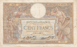 Image #1 of 100 Francs 1928 (24. VII.)