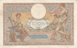 Image #2 of 100 Francs 1930 (9. X.)