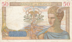 Image #2 of 50 Francs 1935 (28. II.)