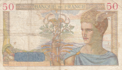 Image #2 of 50 Francs 1935 (29. VIII.)