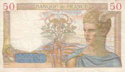 Image #2 of 50 Francs 1935 (5. XII.)