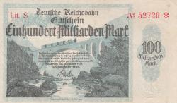 Image #1 of 100 Milliarden (100 000 000 000) Mark 1923 (15. X.) - 2