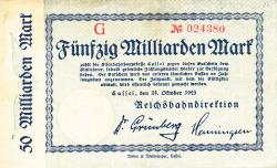Image #1 of 50 Milliarden Mark 1923 (24. X.) - 2