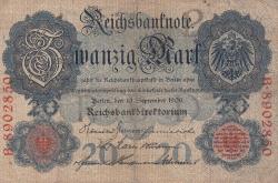 Image #1 of 20 Mark 1909 (10. IX.)