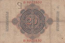 Image #2 of 20 Mark 1909 (10. IX.)