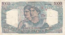 Image #1 of 1000 Francs 1946 (21. II.)