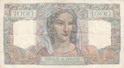 Image #2 of 1000 Francs 1946 (21. II.)