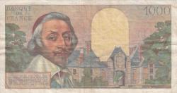 Imaginea #2 a 1000 Franci 1956 (4. X.)
